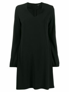 Antonelli v-neck shift dress - Black