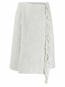 Smarteez wrap fringe skirt - Grey