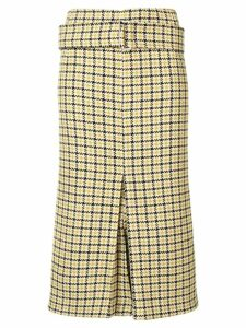 Victoria Beckham tweed pencil skirt - Neutrals