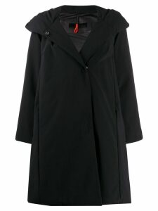 Rrd flared boxy fit rain coat - Black