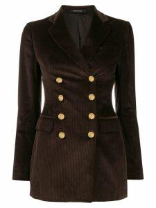 Tagliatore Americana corduroy blazer - Brown