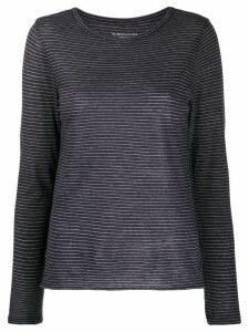 Majestic Filatures Brusa striped jumper - Black