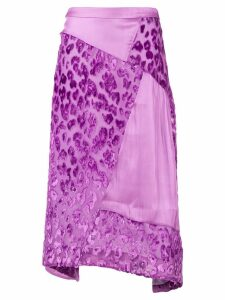 Rejina Pyo Ava midi skirt - Purple