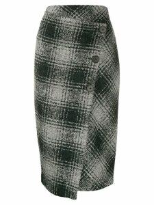 Antonelli draped asymmetric skirt - Black