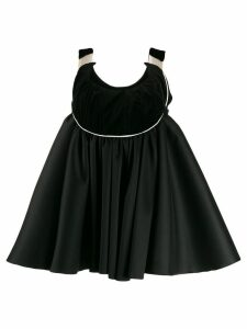 Atu Body Couture babydoll mini dress - Black