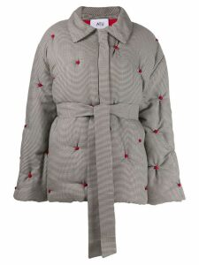 Atu Body Couture oversized quilted coat - Grey