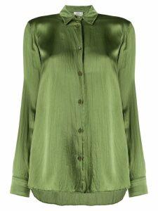 Forte Forte wrinkled-effect loose-fit blouse - Green