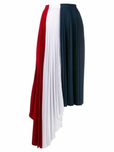 Atu Body Couture pleated midi skirt - Red