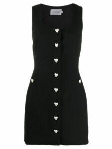 George Keburia heart button dress - Black