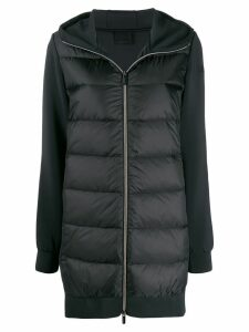 RRD feather down hooded coat - Black