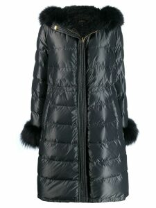 Escada reversible quilted coat - Grey