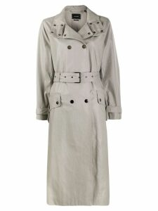 Isabel Marant Tatiana trench coat - Grey