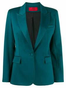 Styland single-breasted fitted blazer - Green