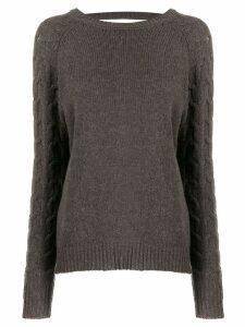 Preen By Thornton Bregazzi Camilla sweater - Brown