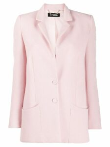 Styland single-breasted fitted blazer - Pink