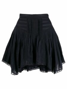 Isabel Marant Étoile Prandali lace trim skirt - Black