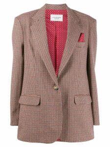 Forte Dei Marmi Couture Americana oversized blazer - NEUTRALS