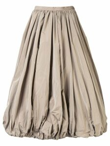 Co puffball midi skirt - Grey