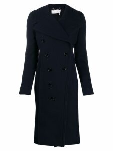 Chloé double-breasted coat - Blue