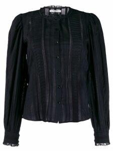 Isabel Marant Étoile Peachy lace blouse - Black
