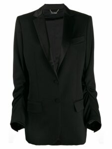 Styland ruched-detail blazer - Black