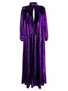 Racil Barbara sequin high neck dress - Purple