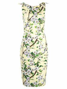 Samantha Sung Monroe floral print dress - Yellow