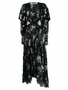 Preen By Thornton Bregazzi Liza floral dress - Black
