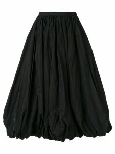 Co gathered hem pleated skirt - Black