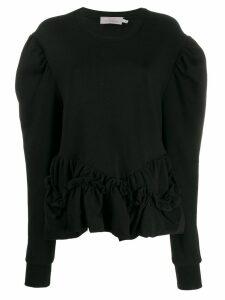 Preen By Thornton Bregazzi Melanie organic cotton sweatshirt - Black