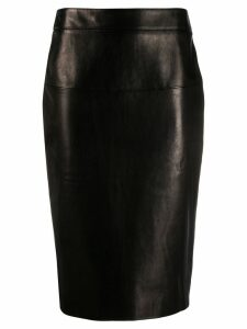 Tom Ford mid-length pencil skirt - Black