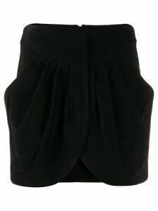 Isabel Marant corduroy Delijah skirt - Black