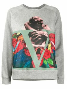 Valentino printed sweatshirt - Grey