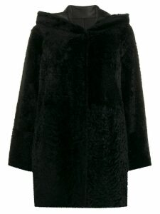 Drome textured shearling jacket - Black
