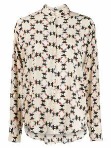 Isabel Marant Cade shirt - Neutrals