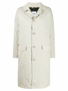 Aspesi lightweight single-breasted coat - Neutrals