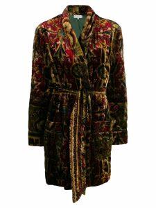 Pierre-Louis Mascia oversized printed jacket - Red