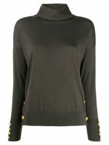 Snobby Sheep button embellished jumper - Green