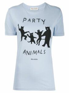 Être Cécile Party Animals t-shirt - Blue