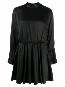 Federica Tosi fitted flared dress - Black