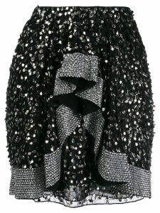 Isabel Marant embellished mini skirt - Black