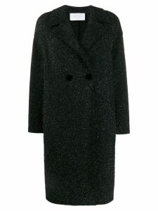Harris Wharf London glitter knit coat - Blue