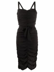P.A.R.O.S.H. sweetheart neck dress - Black