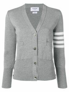 Thom Browne 4-bar milano cardigan - Grey
