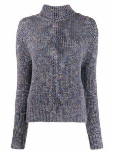 Aragona knitted cashmere jumper - Blue