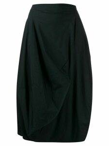 Rundholz Black Label asymmetric midi skirt - Blue