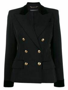 Alberta Ferretti double-breasted blazer - Black