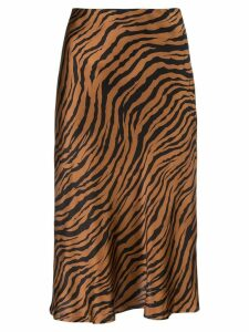Nili Lotan Lane slip skirt - Brown