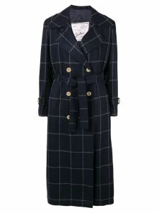 Giuliva Heritage Collection The Christie check-print trench coat -