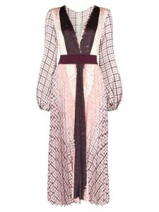 Silvia Tcherassi Darcy printed midi dress - Purple